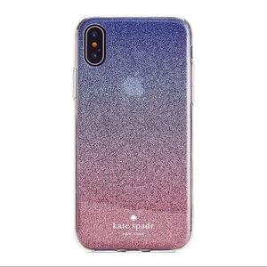 Kate Spade Ombre Glitter Iphone XS/S Case
